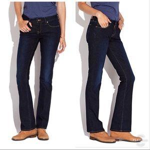 Lucky Brand Lolita Boot Cut Jeans Denim Dark Wash